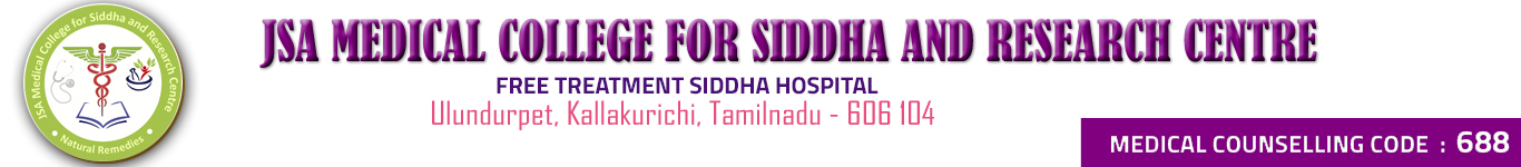 JSA Medical College For Siddha and Research Center